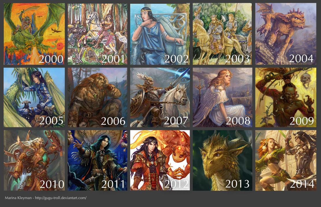 Retrospective 2000-2014 by gugu-troll