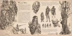 Note for Dark elf knight