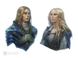 Elves of Blue Mountains