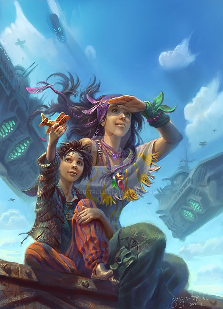Taya and Zik by gugu-troll