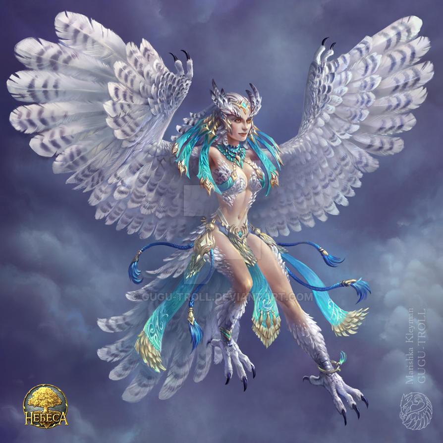 Owl girl by gugu-troll