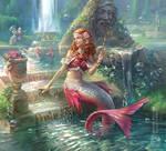 Canzone della sirena - Mermaid Artbook