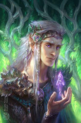 Elven Artbook - unpublished cover