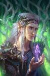Elven Artbook - unpublished cover