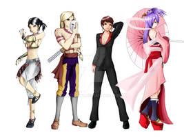 Blaze-Aeternalis's fighting game team