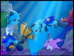 Aqua and Lutri