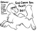 P2U Feral Canine Base Pack