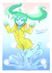 Slimiku in Raincoat by RomanBushi0331