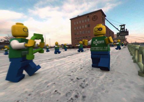 Lego like robot