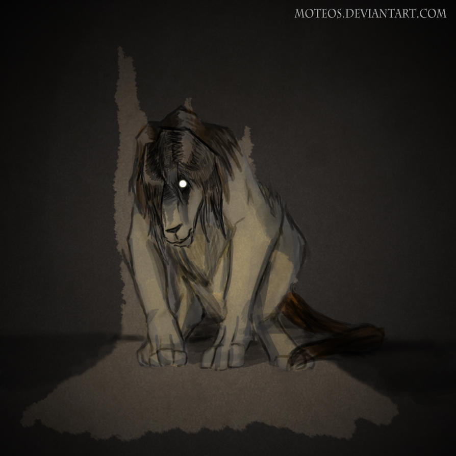 Sad Chimera by moteos