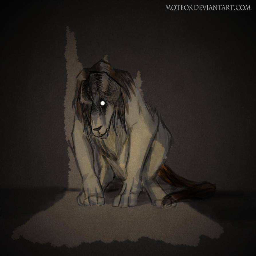 Sad Chimera by moteos