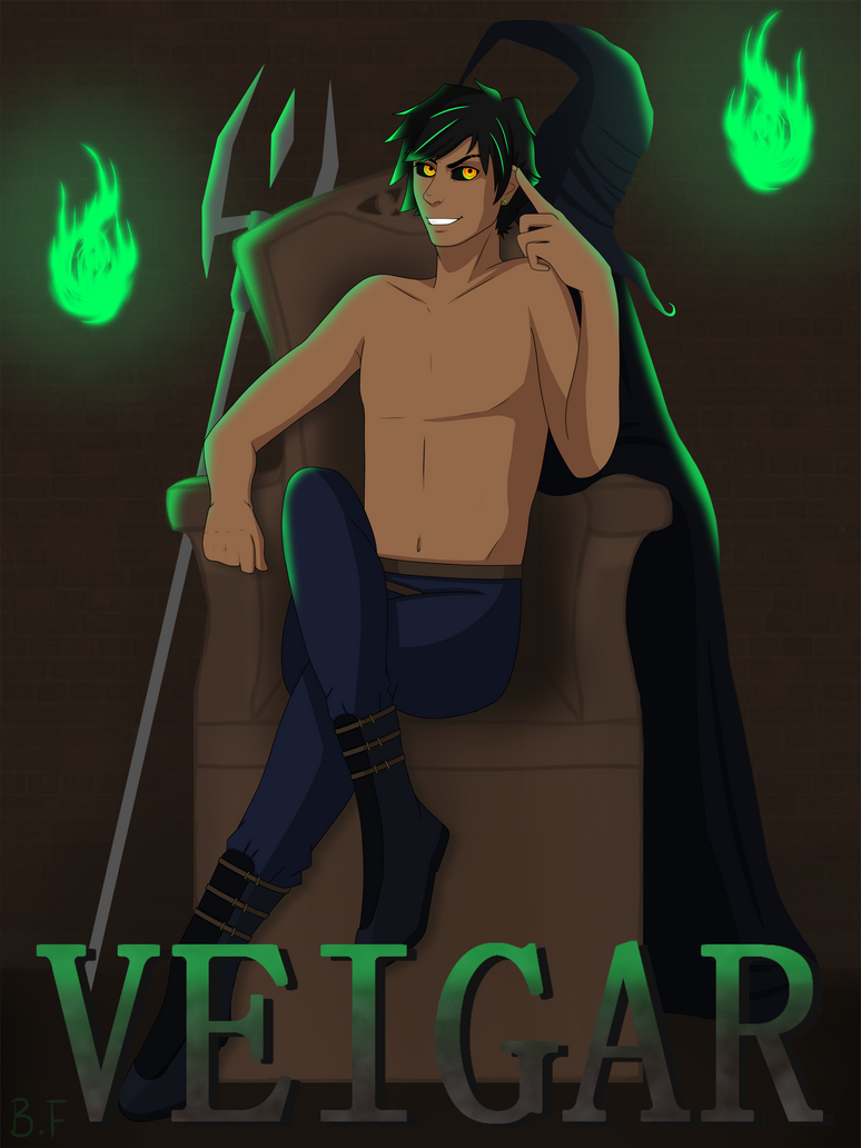 Human Veigar :: Commission by imagine-all-the-art