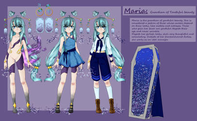 [FH] Maria Rosser Reference Sheet