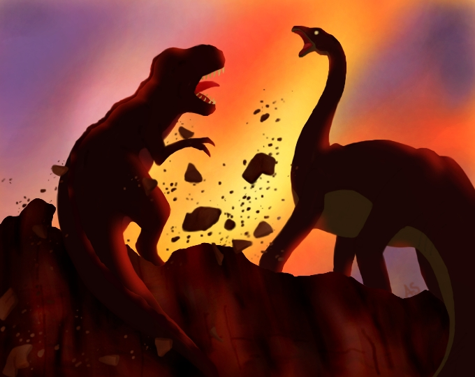 Land Before Time Coloring Pages Mom Long Neck