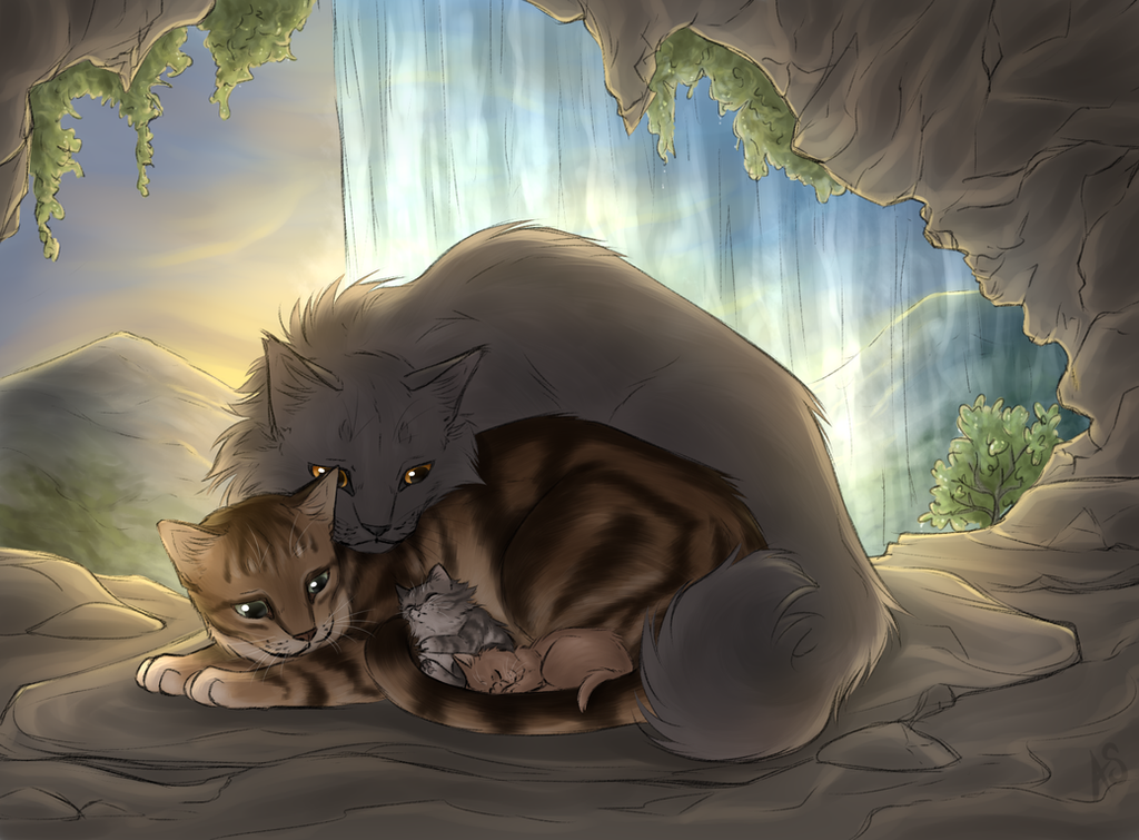 Warrior cats stormfur and brook
