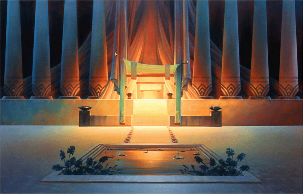 The Prince of Egypt Colonnade