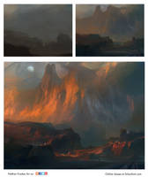 Fantasy Scape Demo by NathanFowkesArt