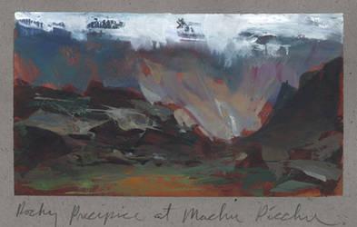 Machu Picchu by NathanFowkesArt
