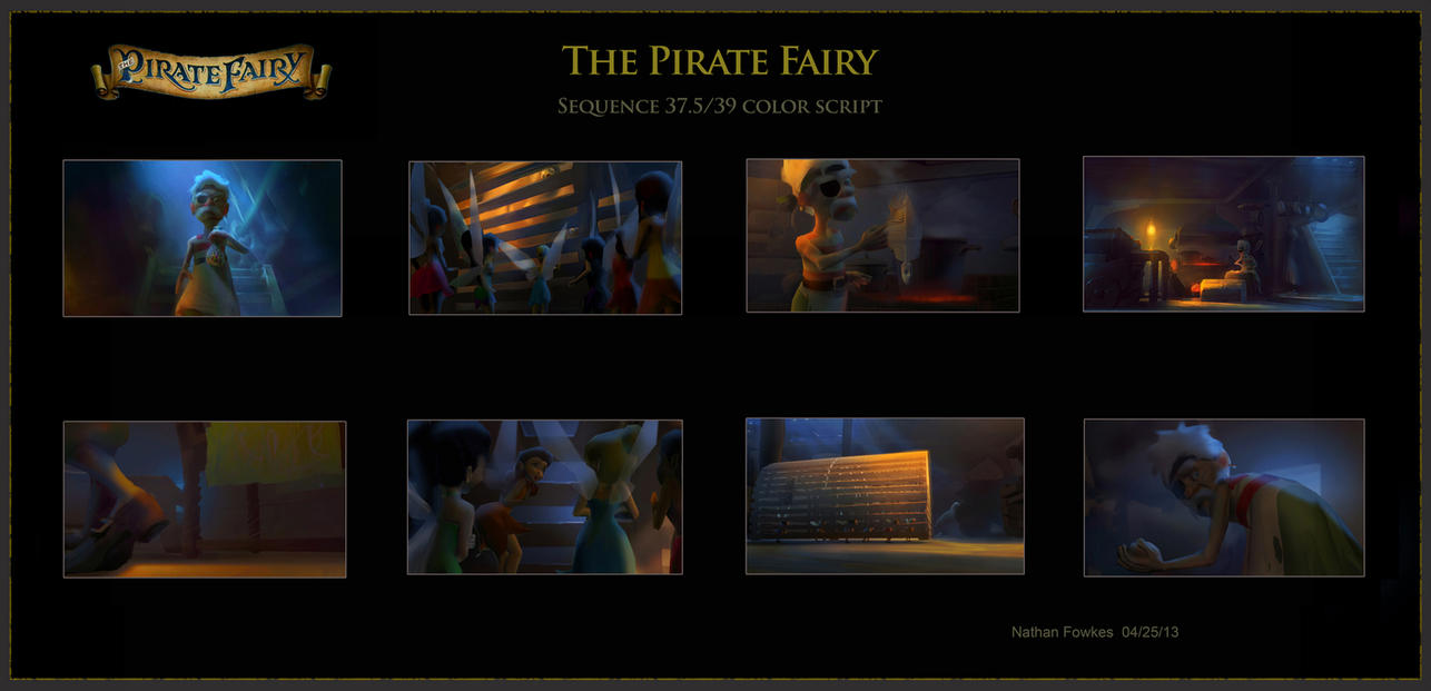 Disney Sequence Color Script 2 by NathanFowkesArt