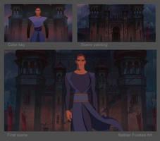 Sinbad Scene Breakdown by NathanFowkesArt