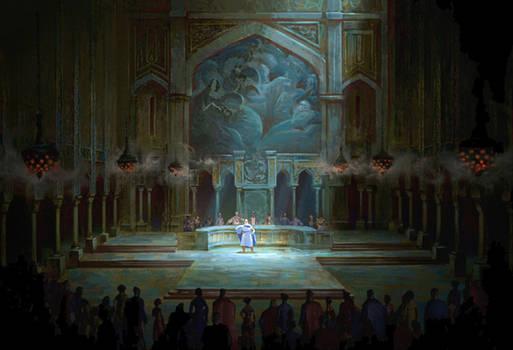Sinbad Hall of Justice
