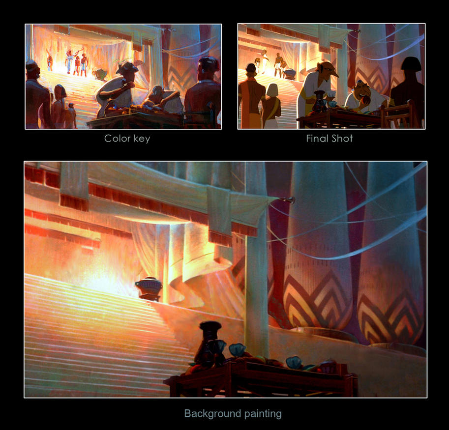 Prince of Egypt Process by NathanFowkesArt
