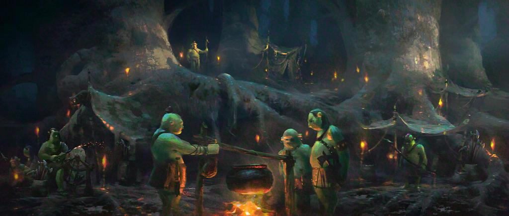 Shrek Ogre Camp by NathanFowkesArt