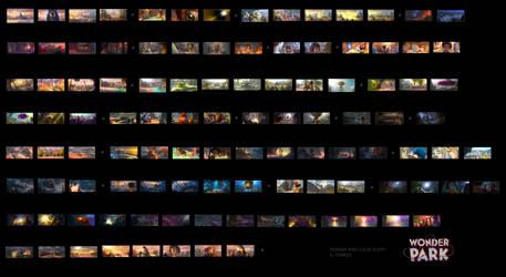 Wonder Park Color Script