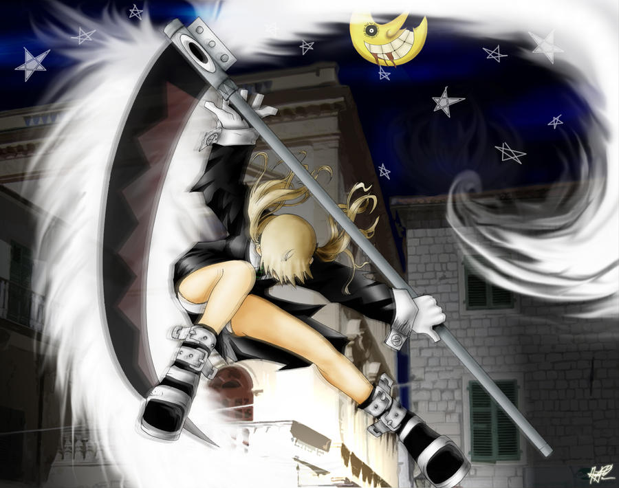 Maka and Soul Eater by nelsonaof