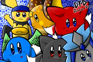 Downtown Dream Group Picture by shadowkitsunekirby