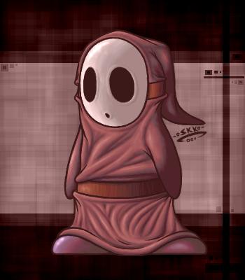 Shy Guy by shadowkitsunekirby
