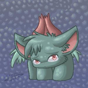 Ivysaur by shadowkitsunekirby