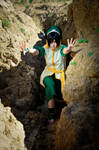Toph Bei Fong - AGRESSIVE MODE by SorelAmy