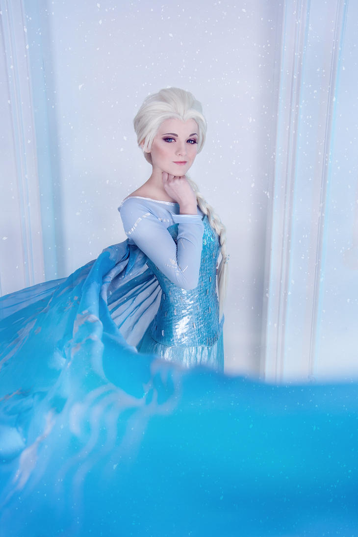 Frozen - I'll rise like the break of dawn by FirehawkCosplay