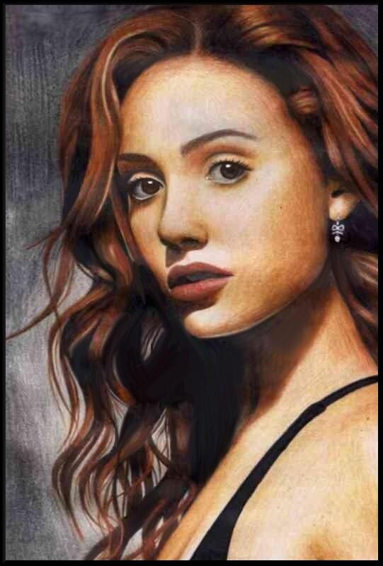 Emmy Rossum 3 by Christine-Dichmann on DeviantArt Emmy Rossum Wallpaper Christine