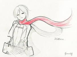 Mikasa - from Attack on Titan
