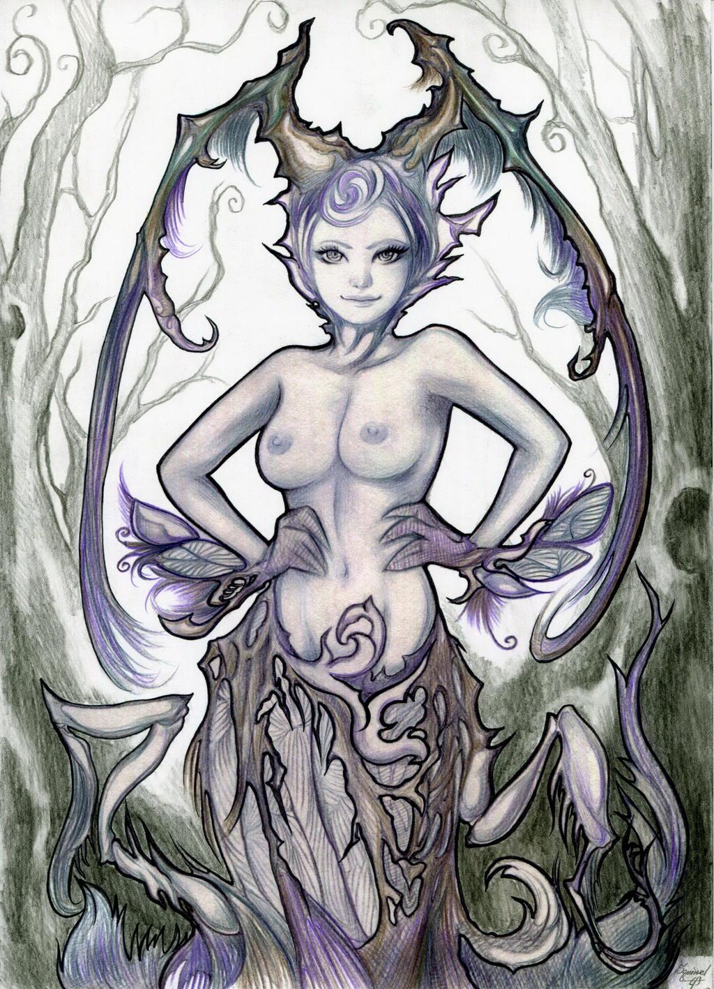 Silva Demon by SquirrelHsieh