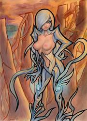 Blade Witch by SquirrelHsieh