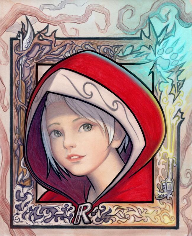 Little Red Riding Hood (2017) by SquirrelHsieh on DeviantArt