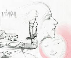 08 Tranquil #Inktober by SquirrelHsieh