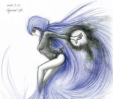 Raven - from Teen Titans: Monotonic