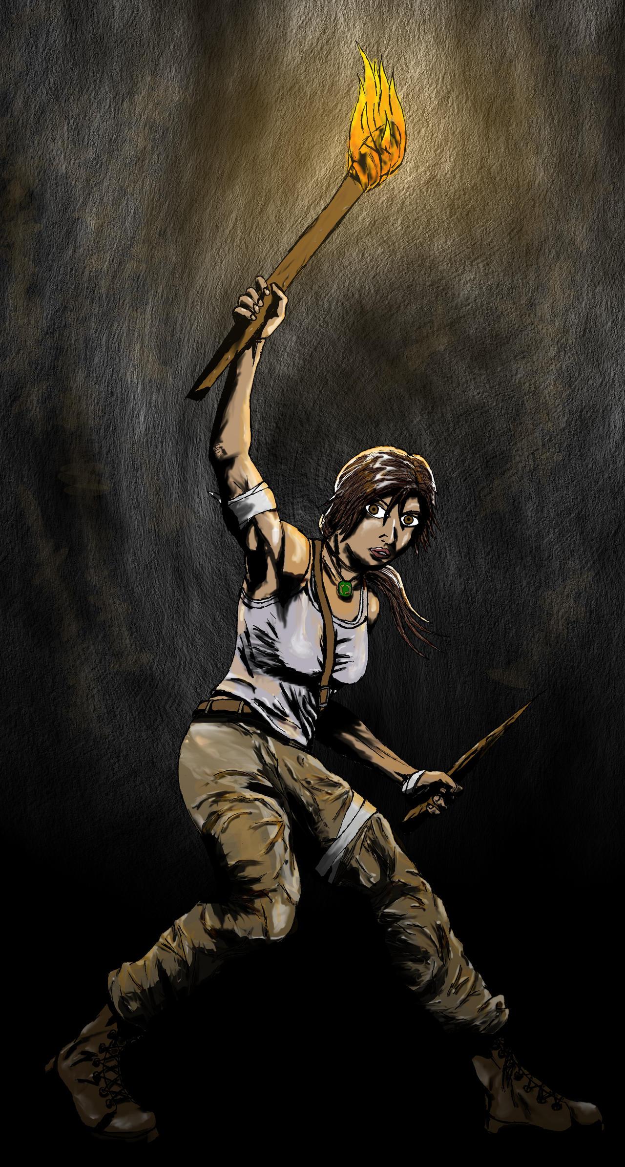 Lara Croft by camriess