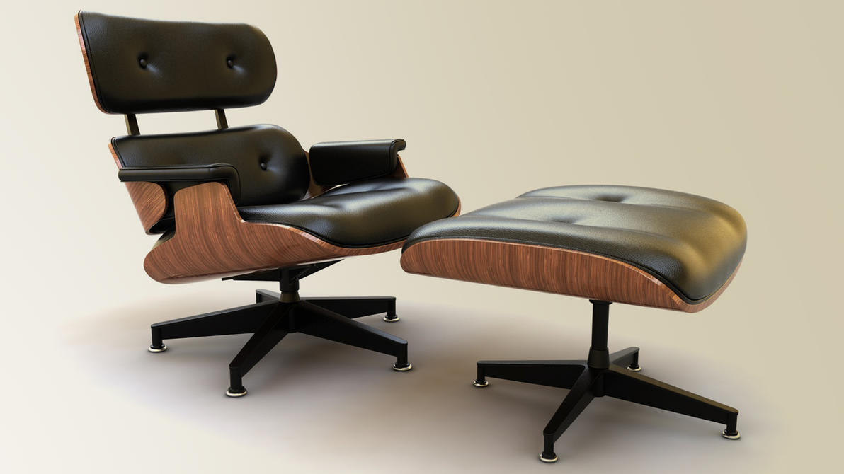 Eames Lounge Chair by Mithrasz