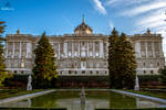 Royal Palace from Madrid