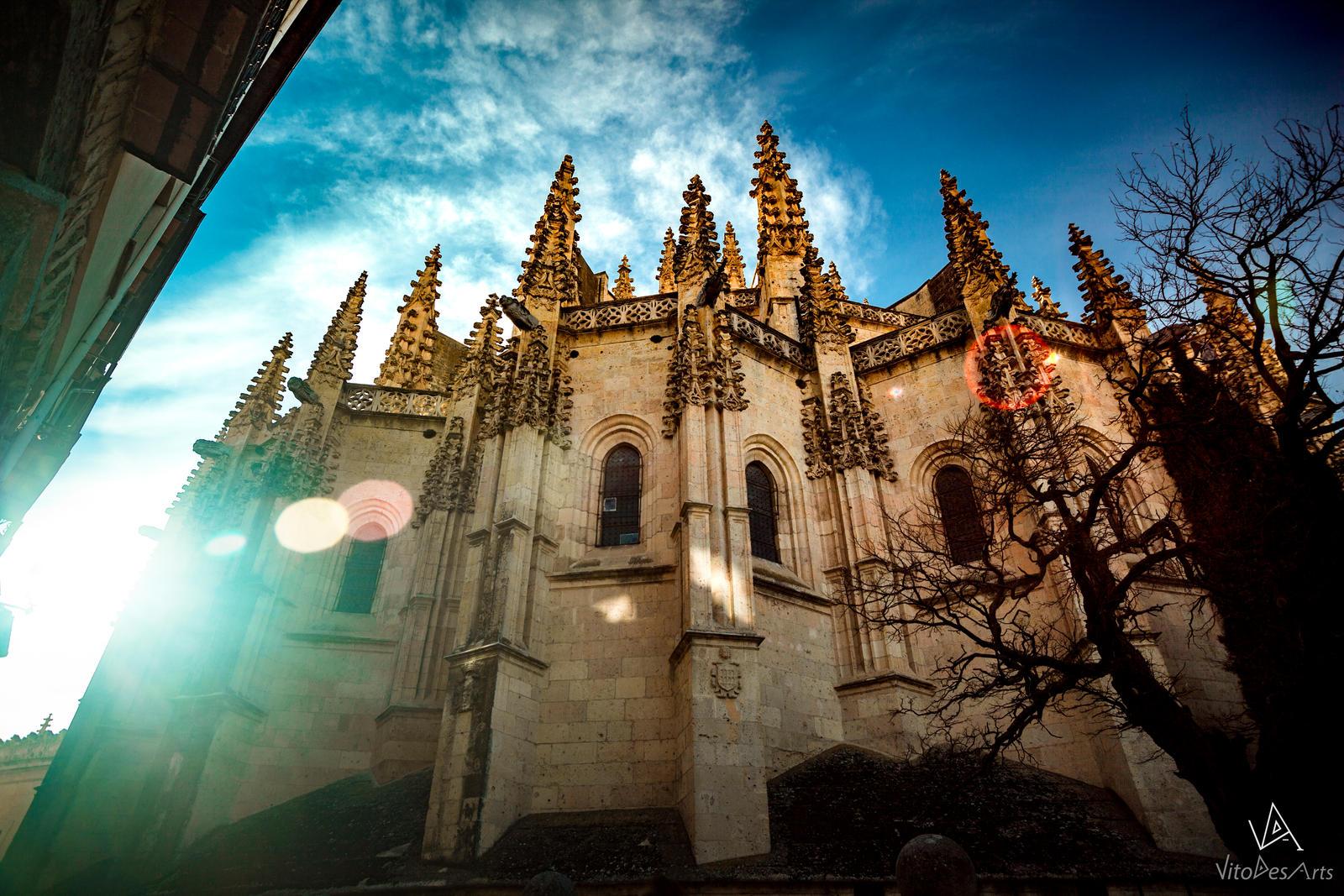 Segovia Cathedral #1 by VitoDesArts