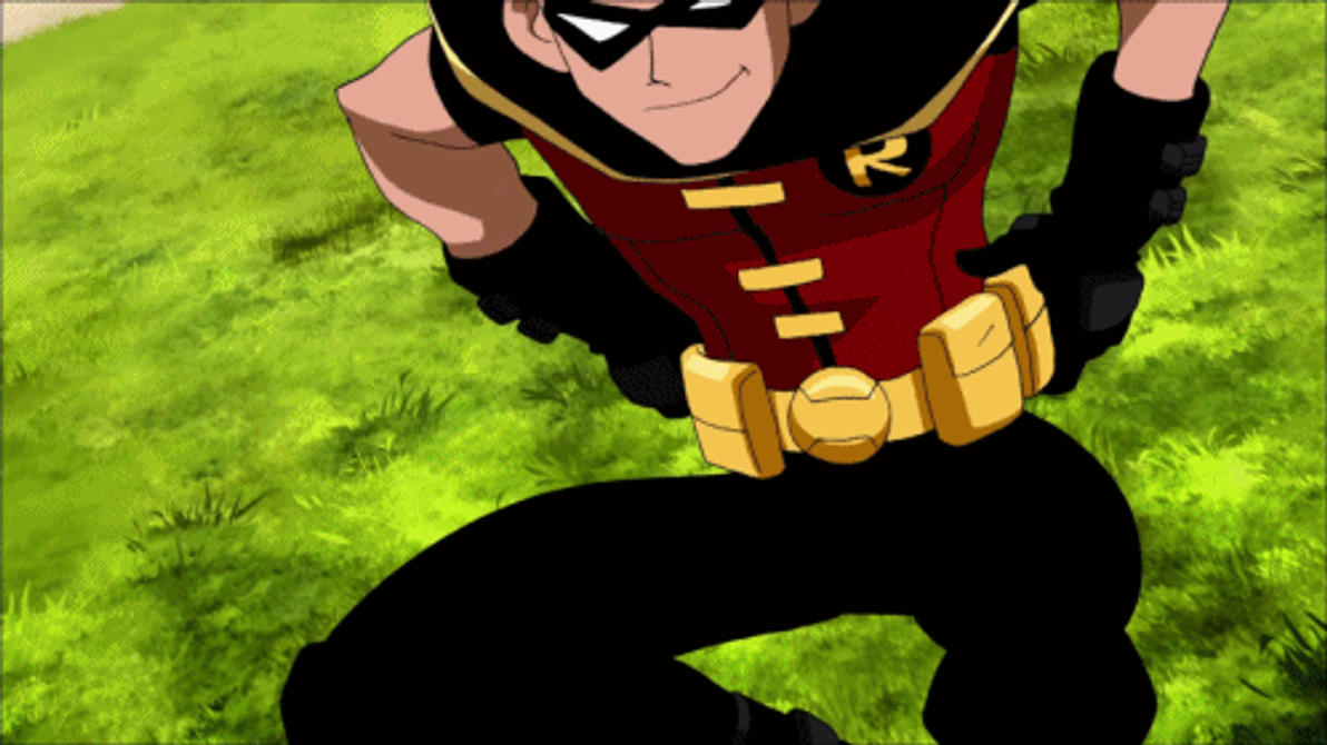 Dick Grayson As Robin