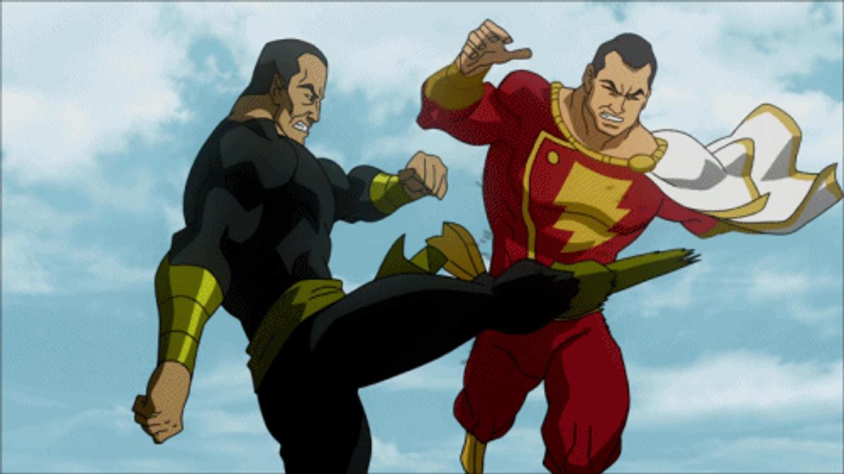 Black Adam VS Captain Marvel By Tsotne Senpai On DeviantArt