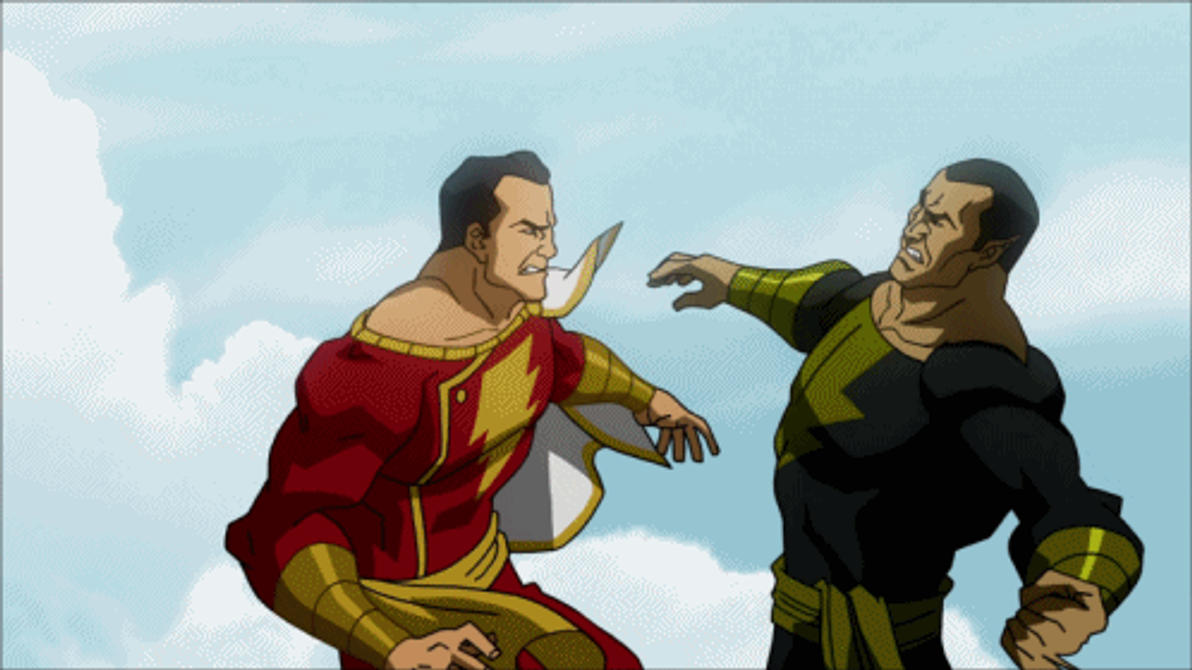 Black Adam VS Captain Marvel by Tsotne-Senpai on DeviantArt