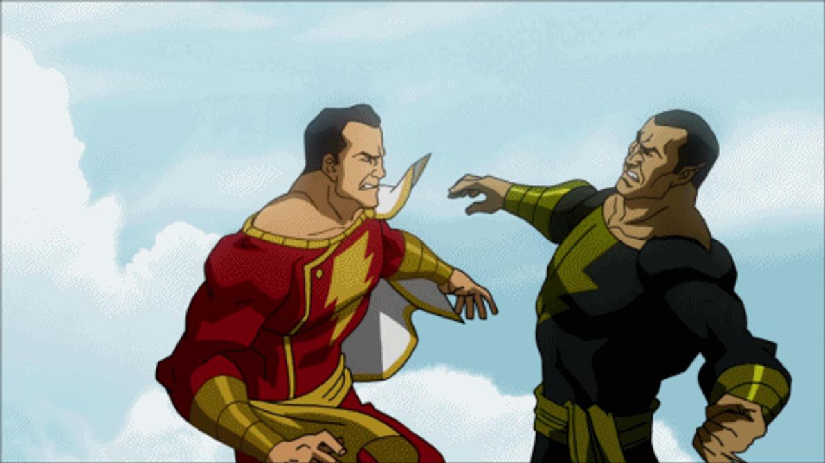 Black Adam VS Captain Marvel by Tsotne-Senpai on DeviantArt
