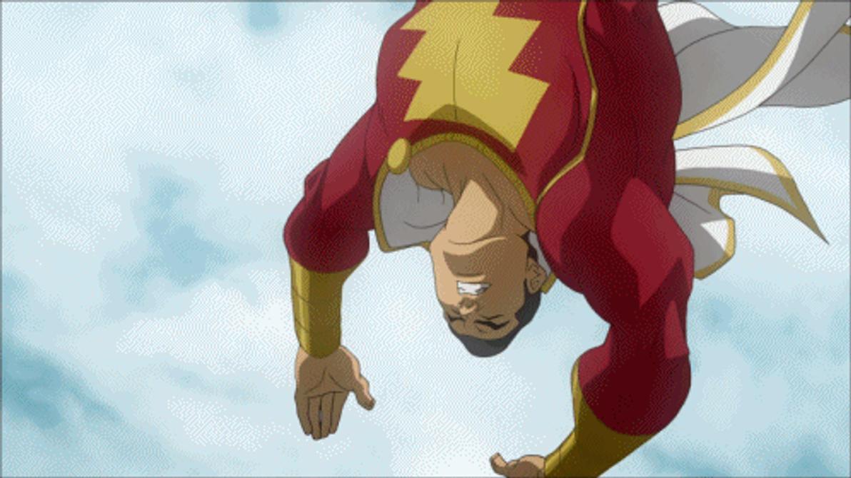 Captain Marvel And Superman VS Black Adam By Tsotne Senpai On DeviantArt